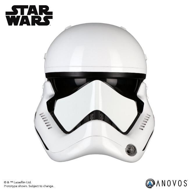 ANOVOS - THE LAST JEDI First Order Stormtrooper Helmet  Storm_52