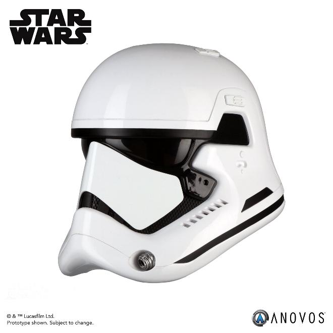 ANOVOS - THE LAST JEDI First Order Stormtrooper Helmet  Storm_54