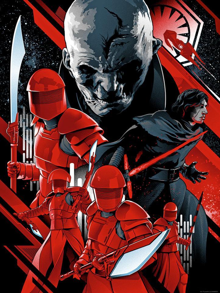Artwork Star Wars - Dark Ink - The New Order The_ne10