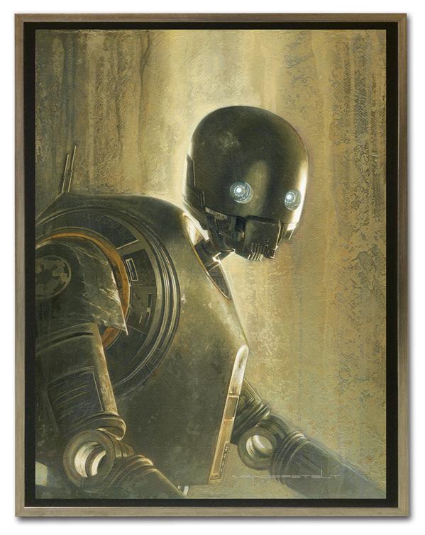 Artwork Star Wars - ACME - Timeless Series K-2SO Timele12
