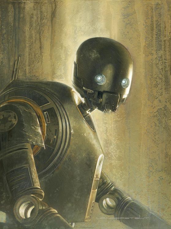 Artwork Star Wars - ACME - Timeless Series K-2SO Timele14
