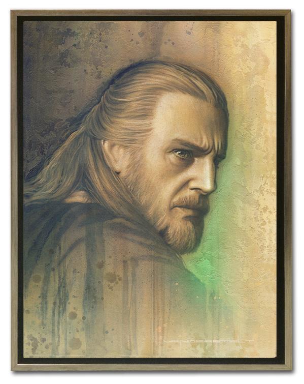 Artwork Star Wars - ACME - Timeless Series Qui-Gon Timele15
