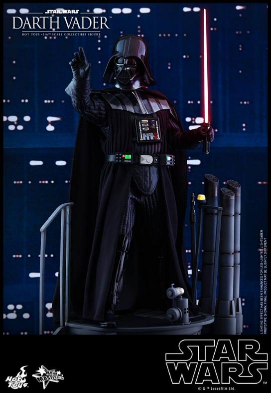 Hot Toys Star Wars Ep. V ESB 1/6th scale Darth Vader Figure Vader_15