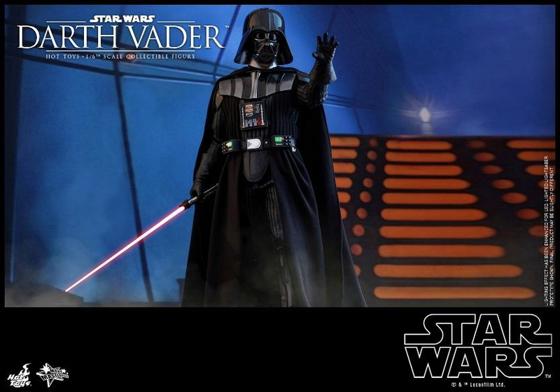 Hot Toys Star Wars Ep. V ESB 1/6th scale Darth Vader Figure Vader_16
