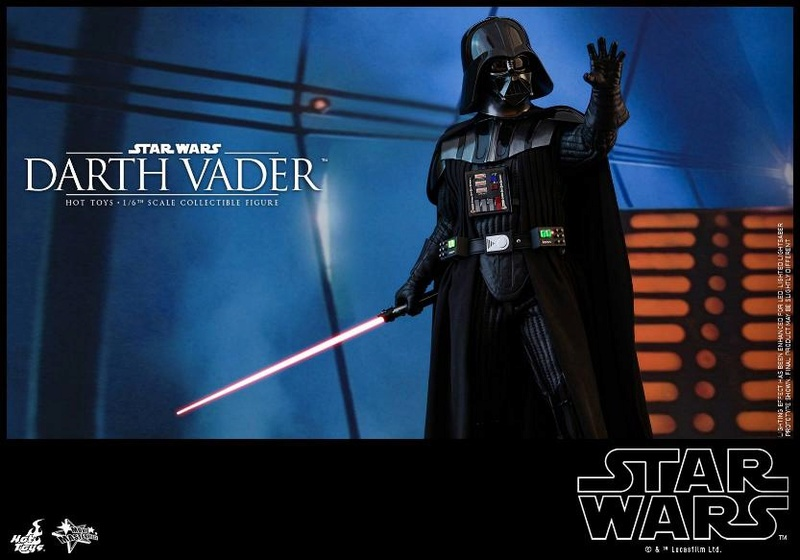 Hot Toys Star Wars Ep. V ESB 1/6th scale Darth Vader Figure Vader_18