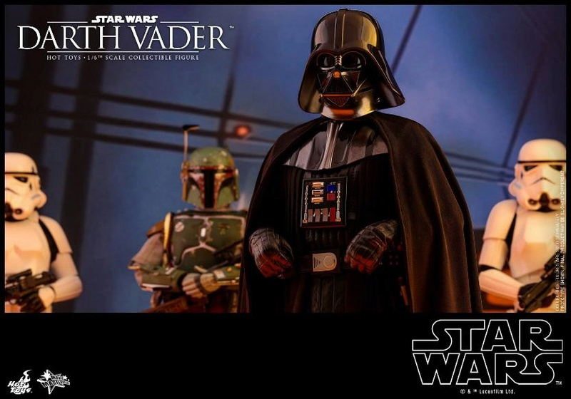 Hot Toys Star Wars Ep. V ESB 1/6th scale Darth Vader Figure Vader_19