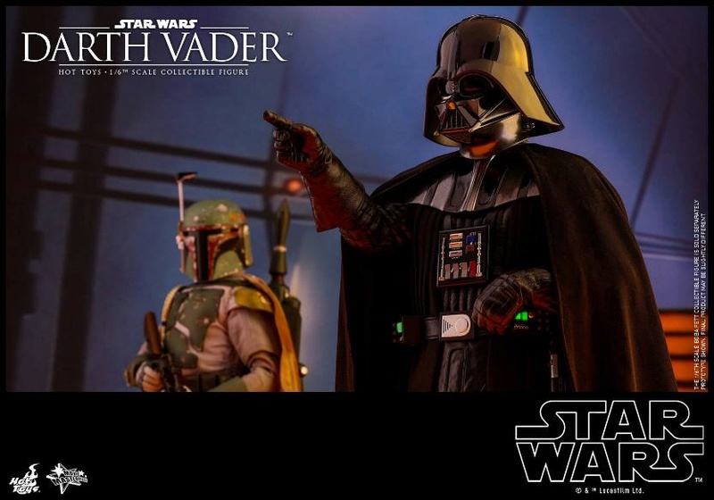 Hot Toys Star Wars Ep. V ESB 1/6th scale Darth Vader Figure Vader_23