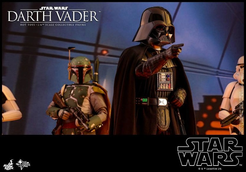 Hot Toys Star Wars Ep. V ESB 1/6th scale Darth Vader Figure Vader_30