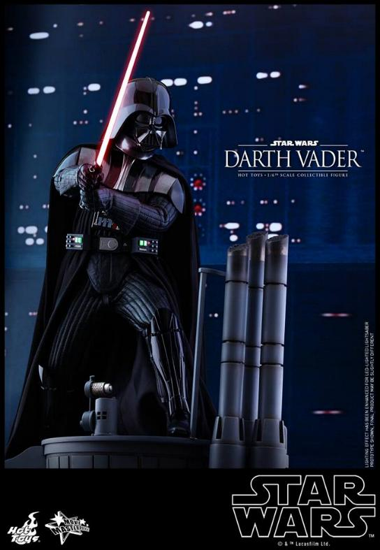 Hot Toys Star Wars Ep. V ESB 1/6th scale Darth Vader Figure Vader_32
