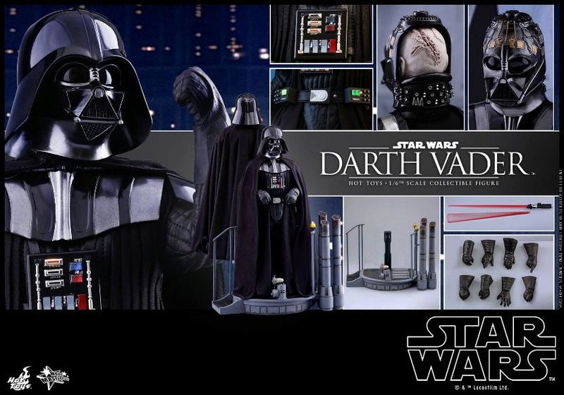 Hot Toys Star Wars Ep. V ESB 1/6th scale Darth Vader Figure Vader_36