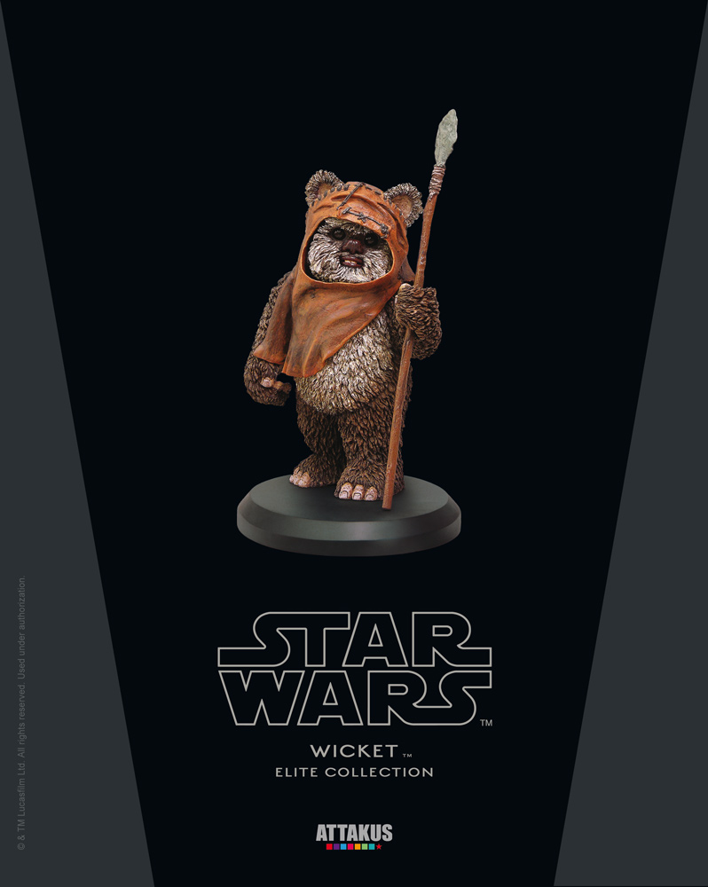 ATTAKUS - Star Wars Elite Collection 1/10 Wicket Statue Wicket10