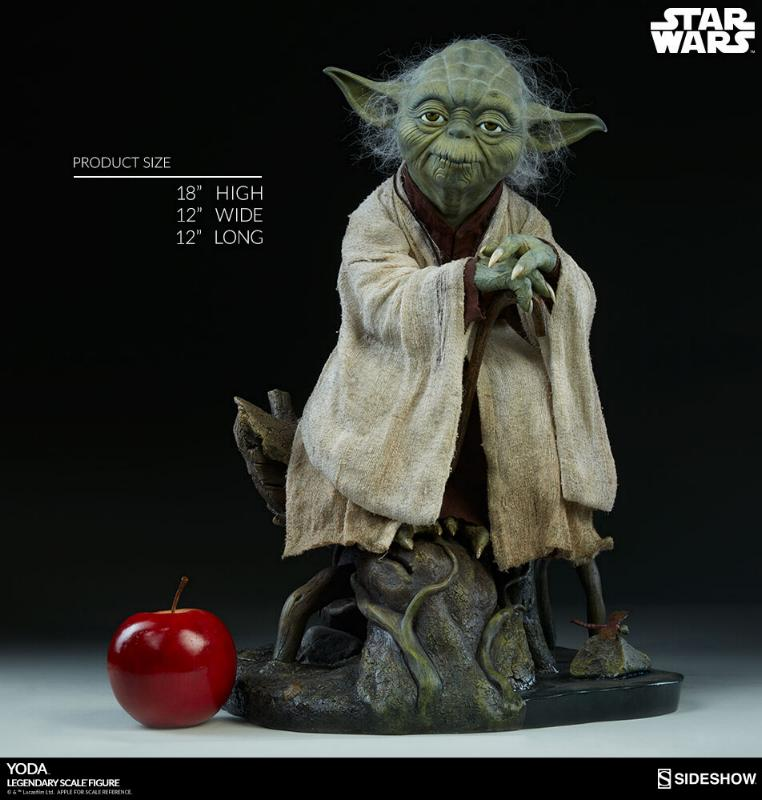 Sideshow Collectibles - Yoda Legendary Scale Figure Yoda_l11