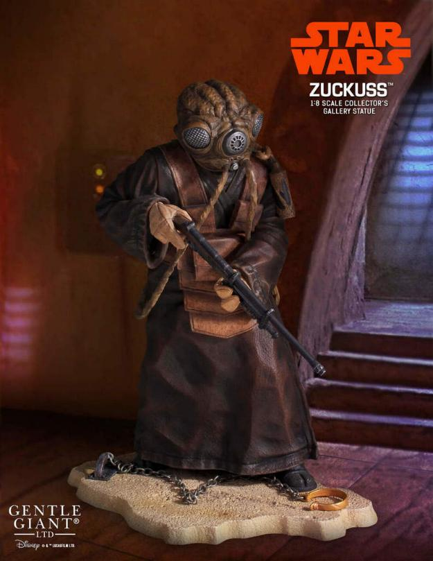 Gentle Giant - Star Wars Zuckass 1:8th scale statue Zu_0110