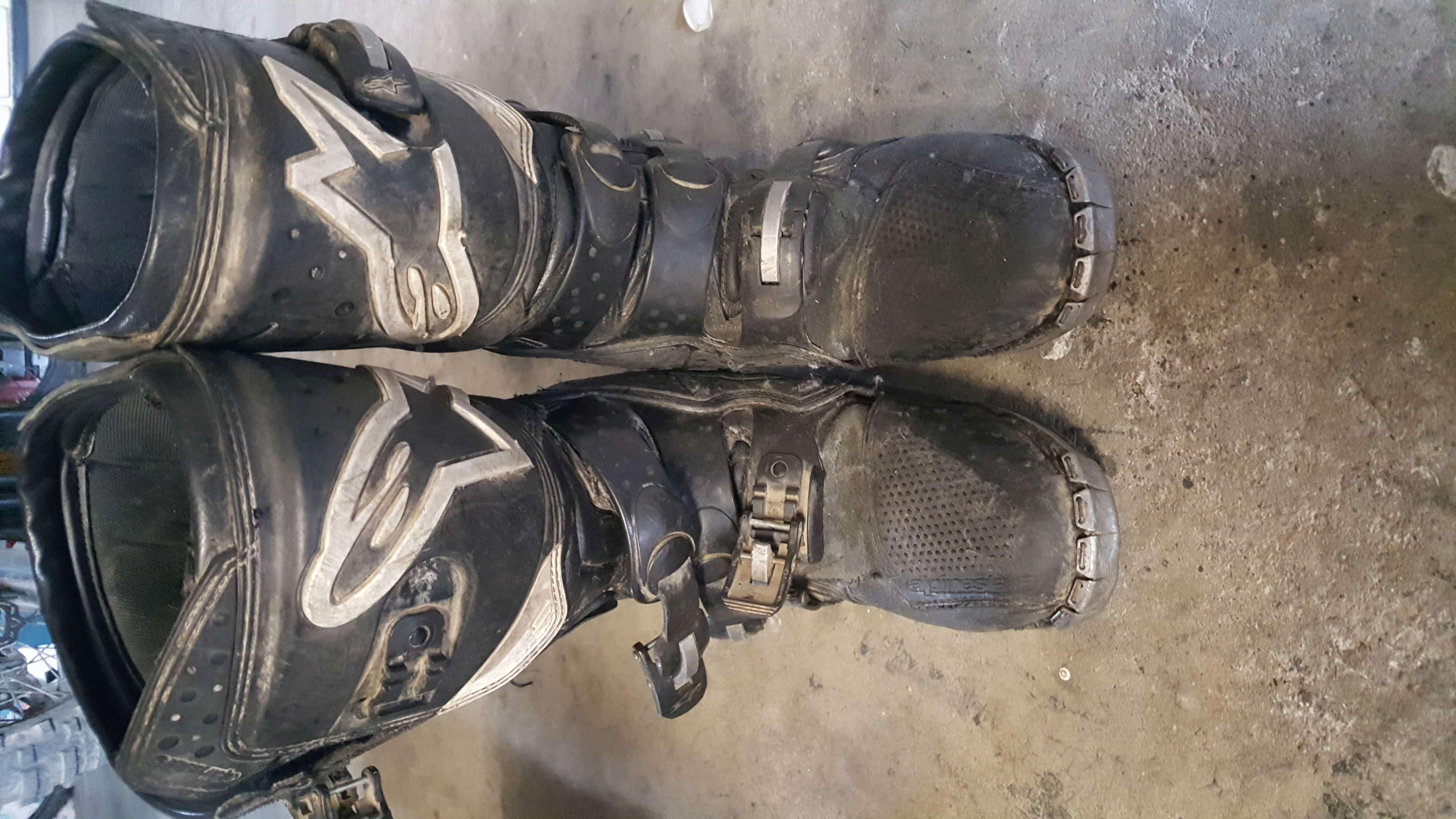 Donnes 2 paires de bottes Alpinestars 20180612