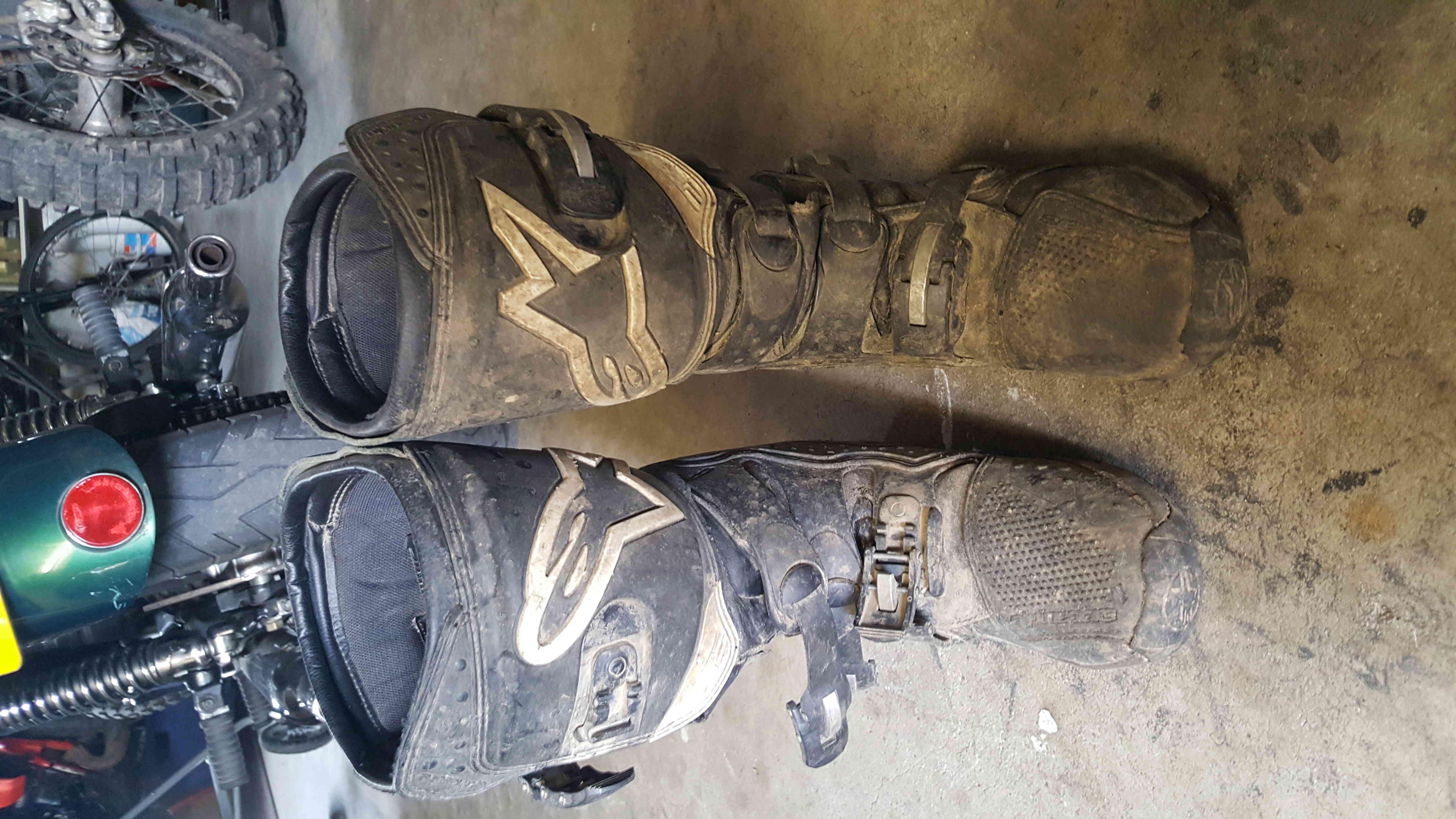 Donnes 2 paires de bottes Alpinestars 20180613