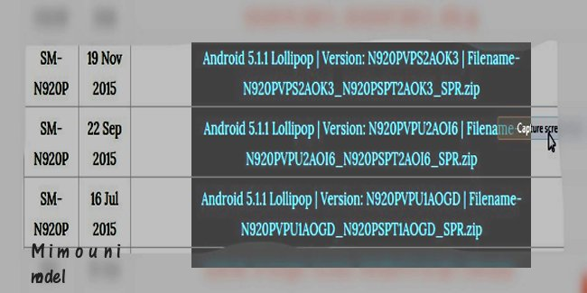 Galaxy Note 5 n920 P tous les Firmwares 2015 a 2917 Note5_10