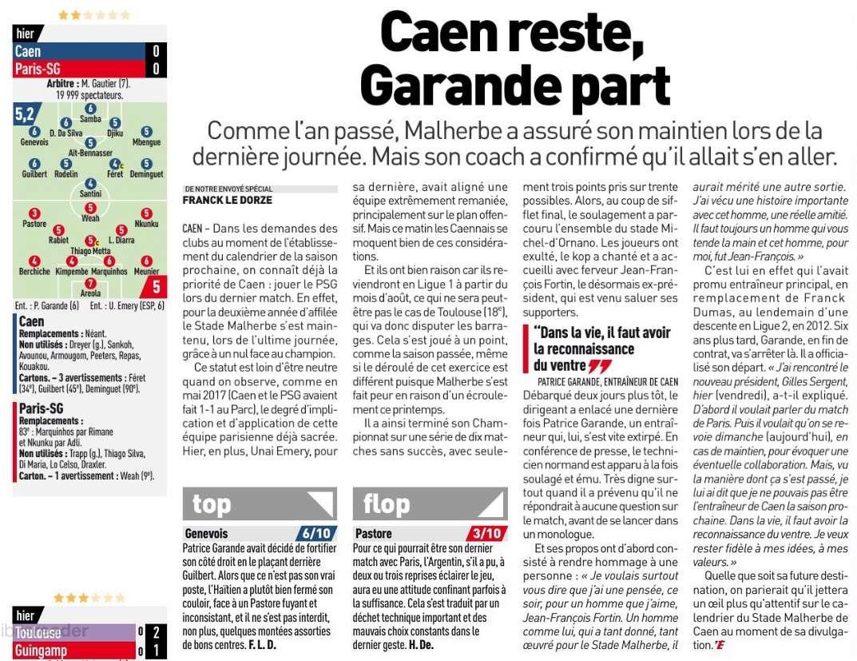 [38e journée de L1] SM Caen 0-0 Paris SG - Page 2 Equipe26