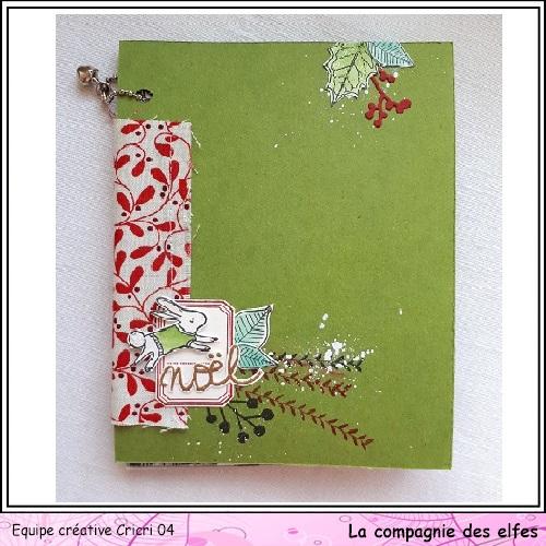 Mini album by Cricri, Noël, souvenirs. Cricr116