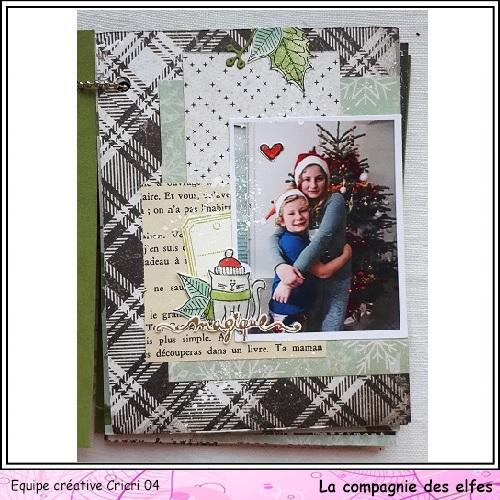 Mini album by Cricri, Noël, souvenirs. Cricr118
