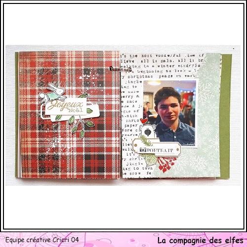 Mini album by Cricri, Noël, souvenirs. Cricr121