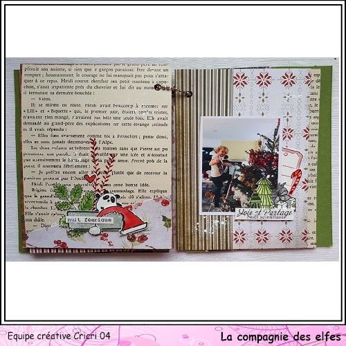 Mini album by Cricri, Noël, souvenirs. Cricr122