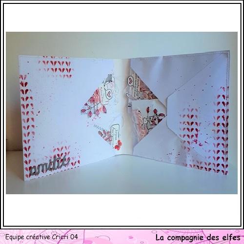Pochette surprise Rose  Cricr141