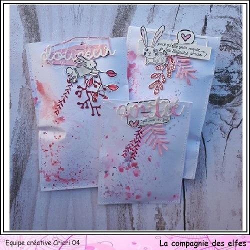 Pochette surprise Rose  Cricr142