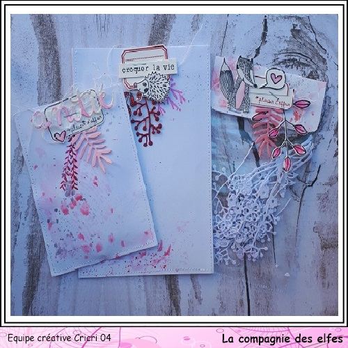 Pochette surprise Rose  Cricr143
