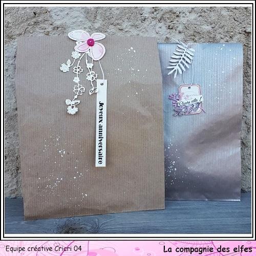 Pochette surprise Rose  Cricr144