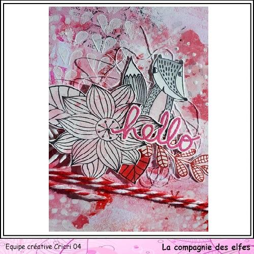 Pochette surprise Rose  Cricr145