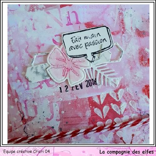 Pochette surprise Rose  Cricr146