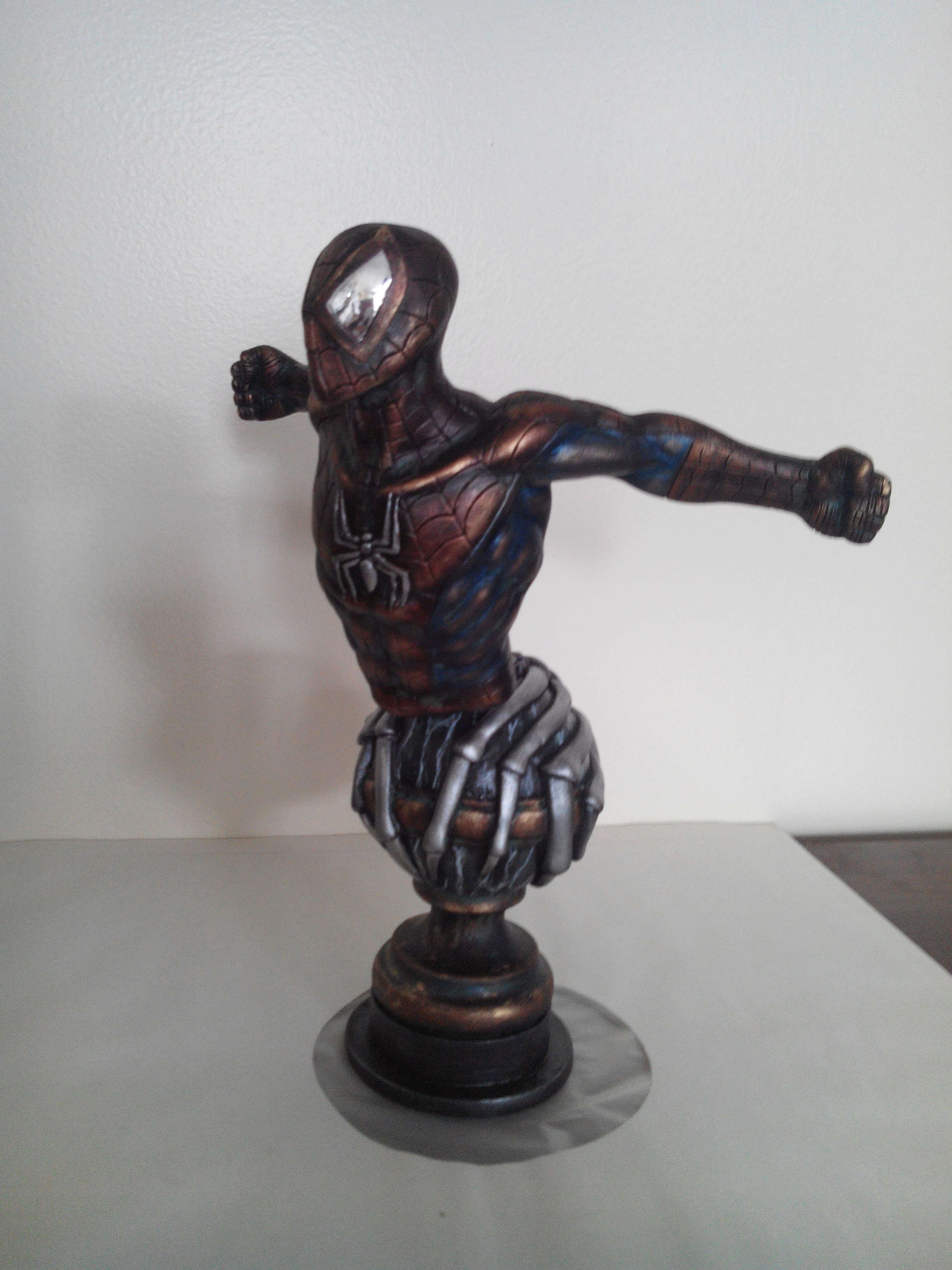 Spiderman en bronze 120c1d10