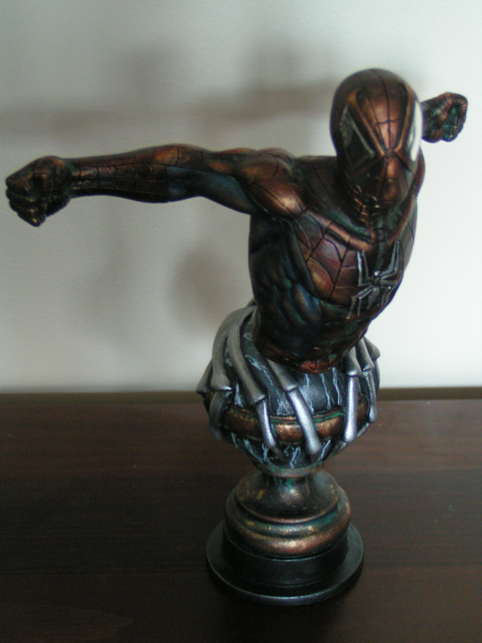 Spiderman en bronze Dc826a10