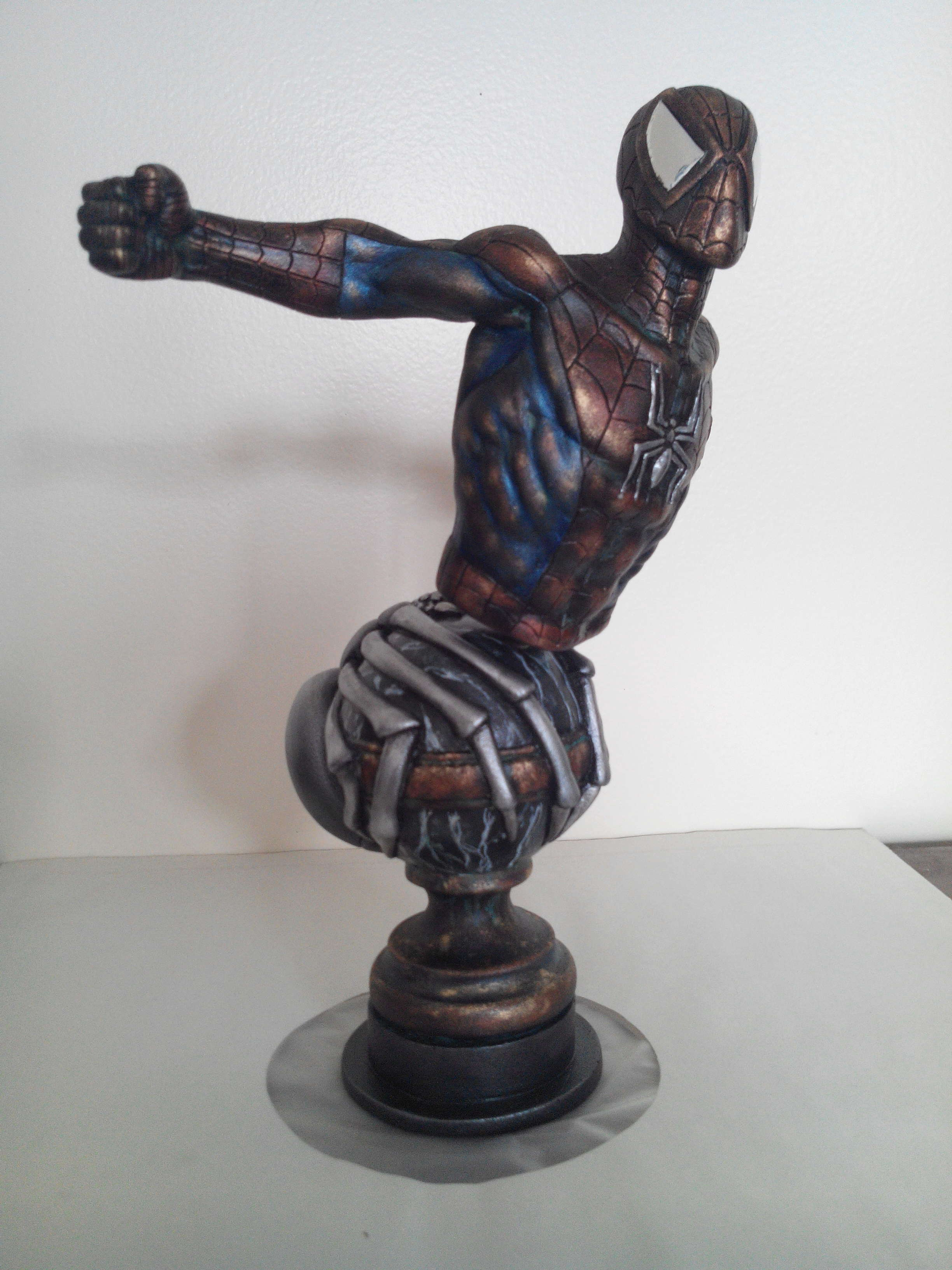 Spiderman en bronze F43fc810