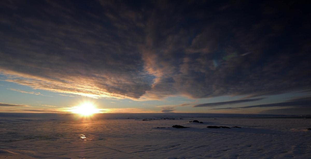Antarctique coucher de soleil 5padx10