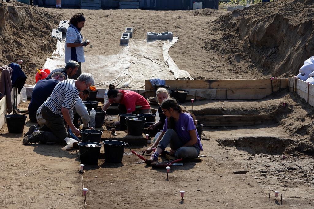 """fouilles archéologiques """"Beg Er Vil"""" Quiberon  Dsc_3230"""