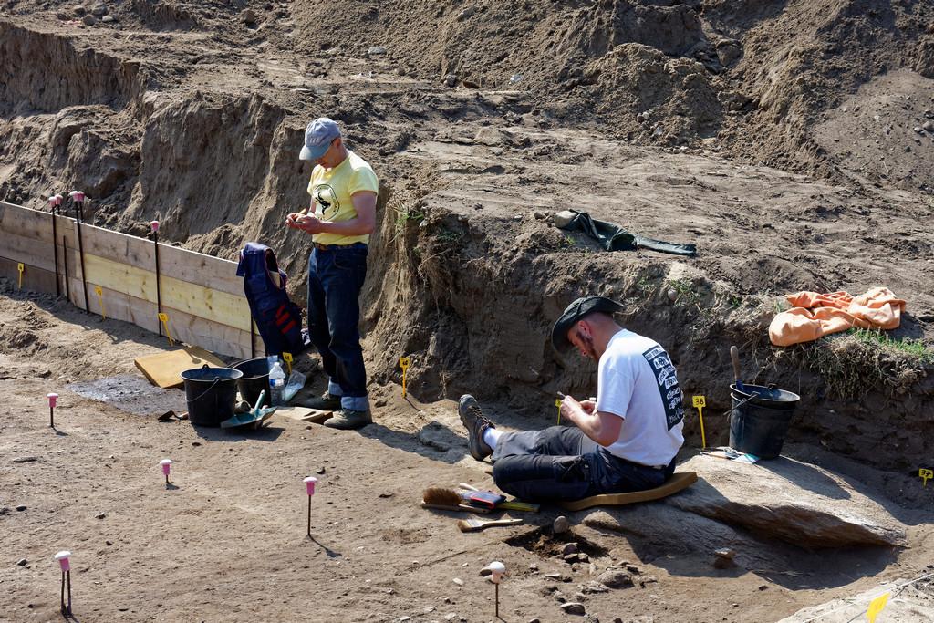 """fouilles archéologiques """"Beg Er Vil"""" Quiberon  Dsc_3239"""