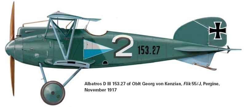 Albatros D-III Oeffag série 153 1/72 Albatr15