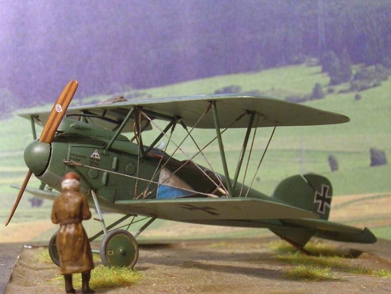 Albatros D-III Oeffag série 153 1/72 Albatr16