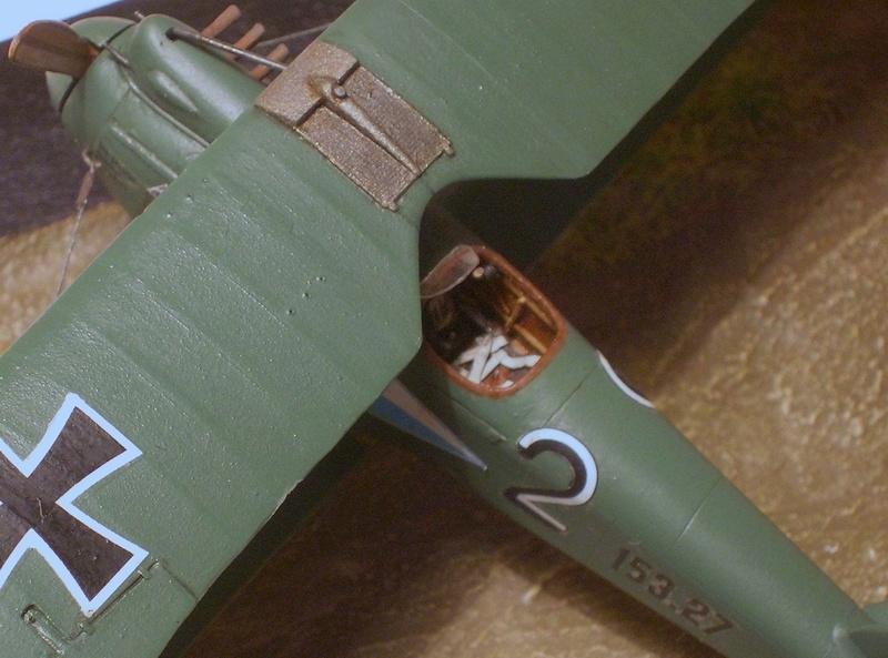 Albatros D-III Oeffag série 153 1/72 Albatr17