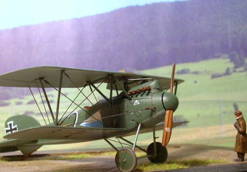 Albatros D-III Oeffag série 153 1/72 Albatr18