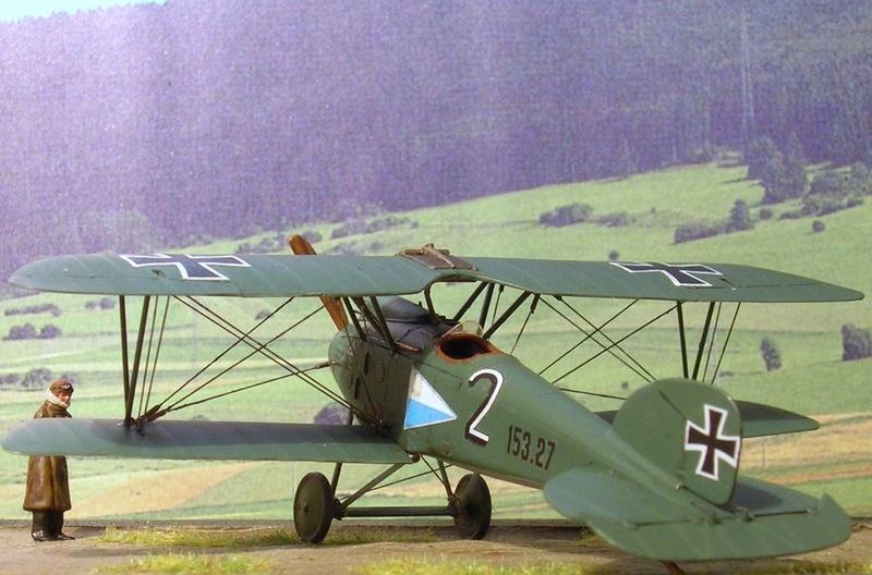 Albatros D-III Oeffag série 153 1/72 Albatr19