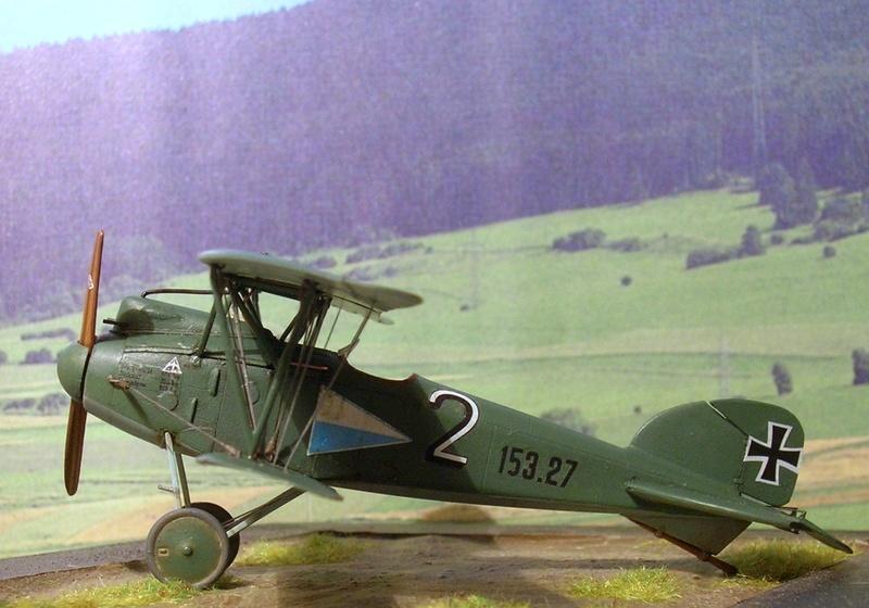 Albatros D-III Oeffag série 153 1/72 Albatr21