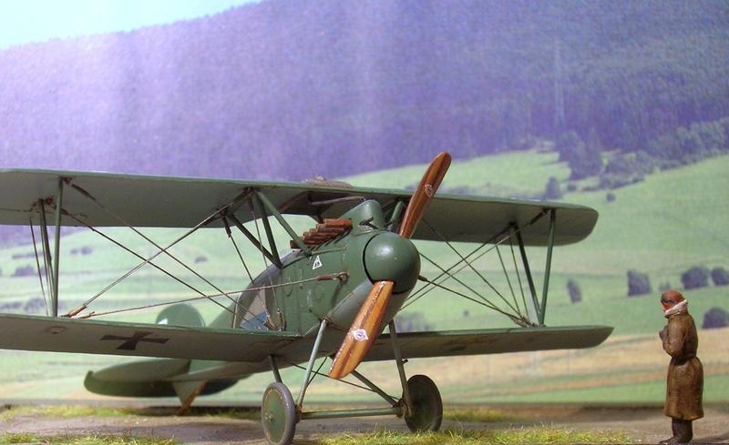 Albatros D-III Oeffag série 153 1/72 Albatr22