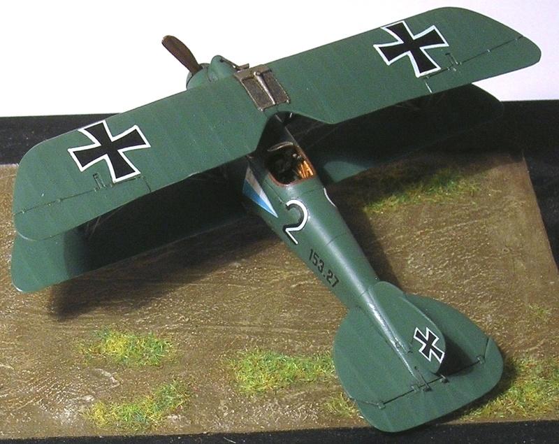 Albatros D-III Oeffag série 153 1/72 Albatr24