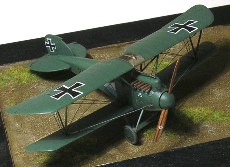 Albatros D-III Oeffag série 153 1/72 Albatr25