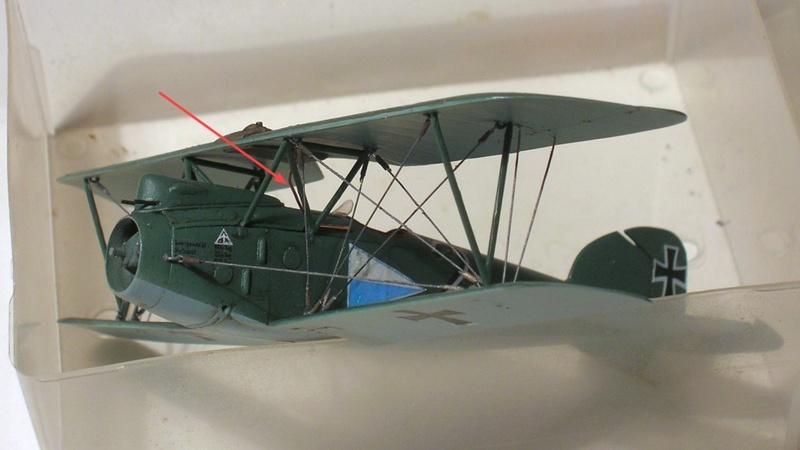 Albatros D-III Oeffag début de série 153 / Roden 1/72 - Page 3 Montag12