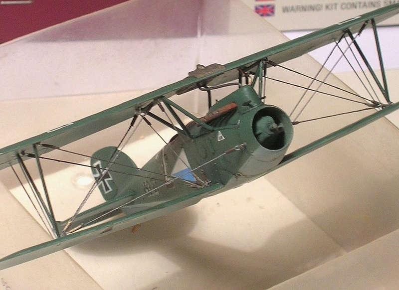 Albatros D-III Oeffag début de série 153 / Roden 1/72 - Page 3 Montag14