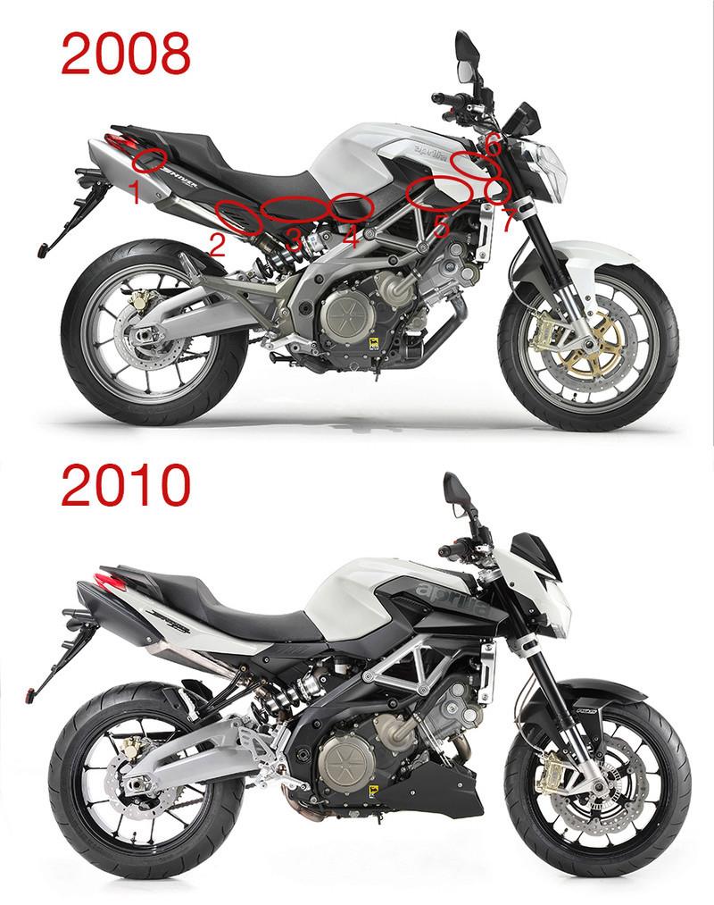 [Moto] Conversion et kit de maquette Shiver11