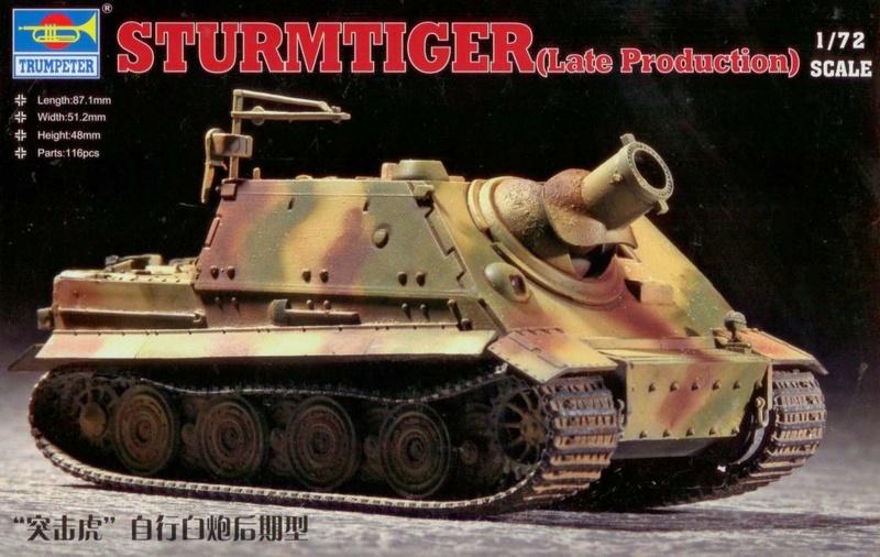 Sturmtiger Trumpeter 1/72  (termine) 724710